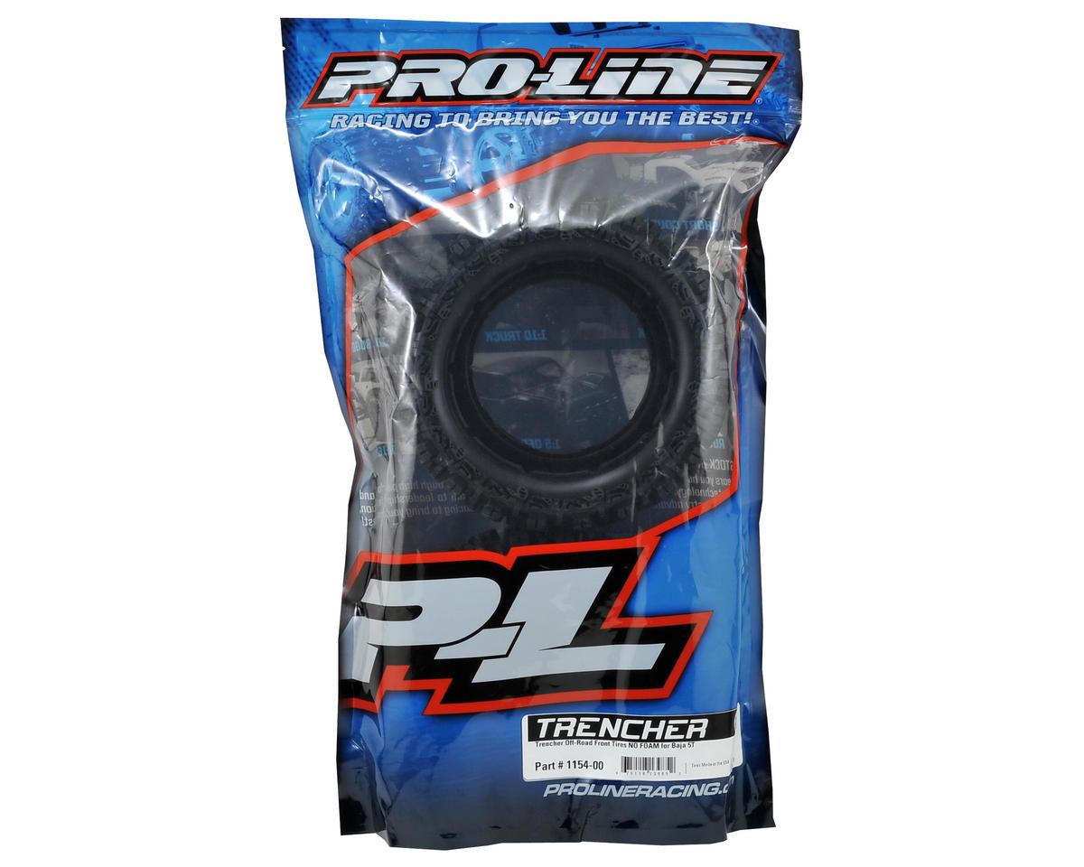 Pro-Line Trencher Front 1/5 Truck Tire (2) (No Foam) (XTR)