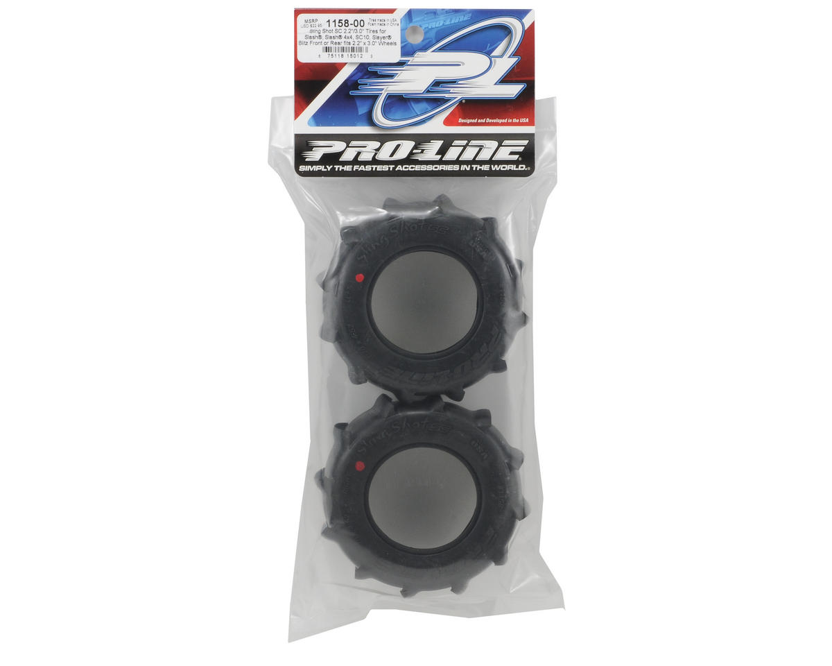 Pro-Line Sling Shot SC 2.2/3.0 Short Course Paddle Tires (2) (XTR)