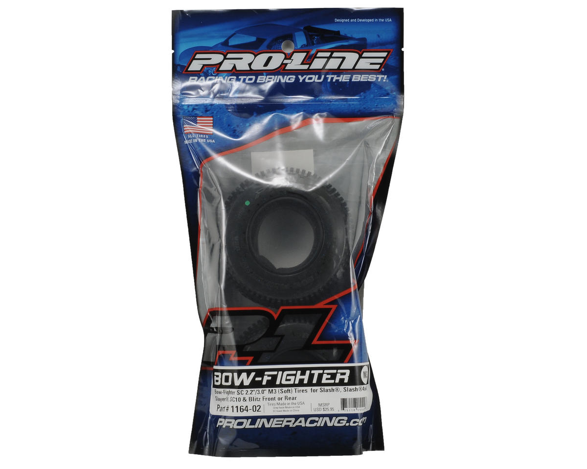 "Pro-Line Bow-Fighter SC 2.2""/3.0"" Short Course Truck Tires Truck Tires (2)"