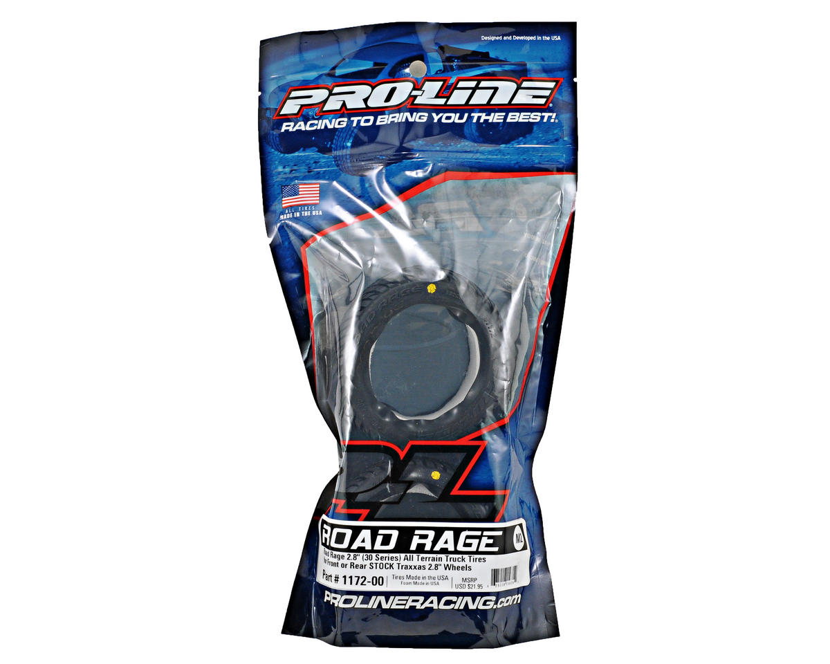 "Pro-Line 30 Series Road Rage 2.8"" Tire (2)"
