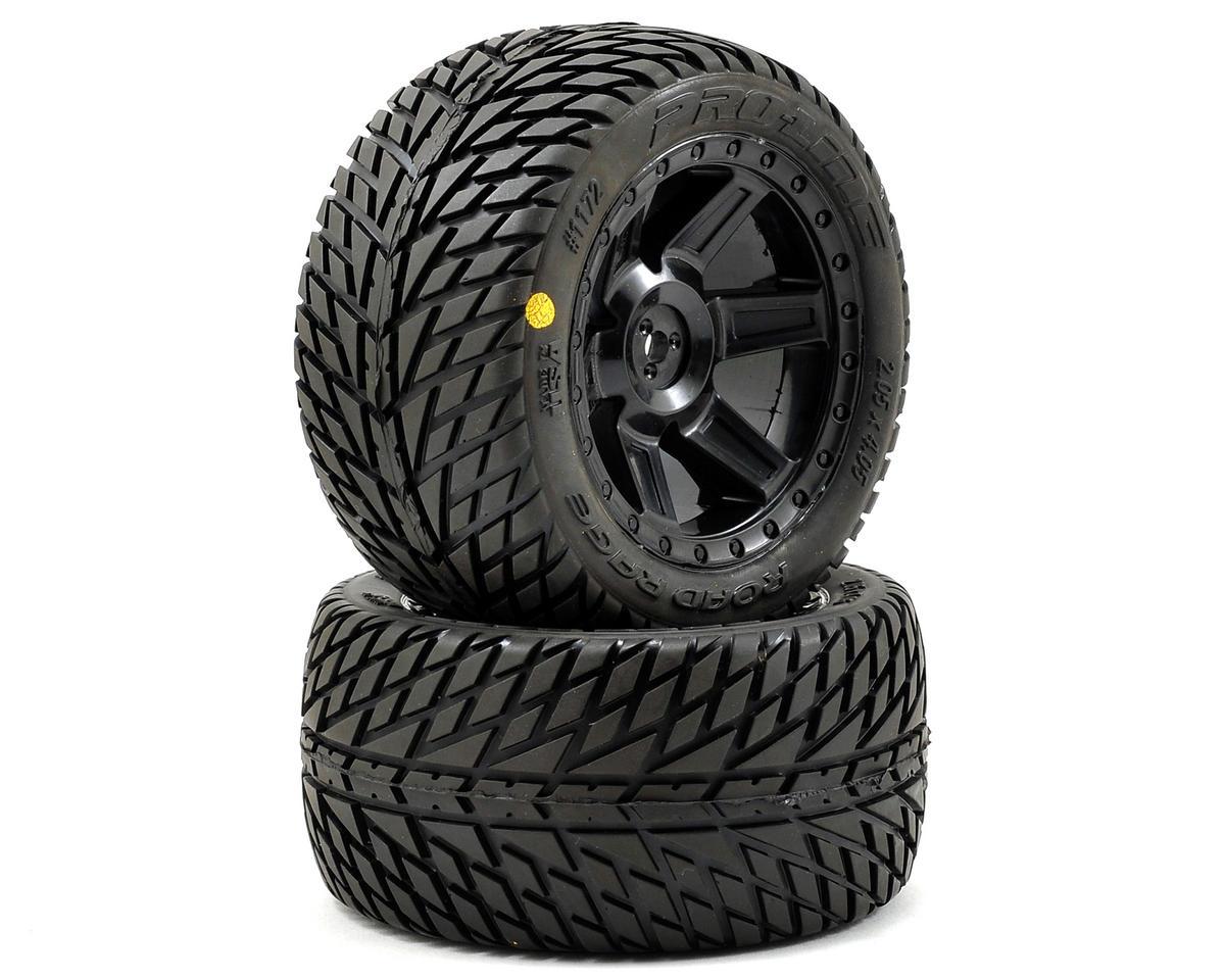 Pro-Line 30 Series Road Rage 2.8 w/Desperado Electric Rear Wheels (2) (Black)