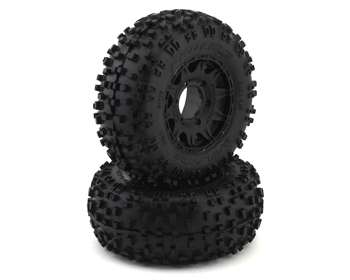 "Pro-Line Badlands 2.8"" Pre-Mounted w/Raid Electric Rear Wheels (Black) (2)"