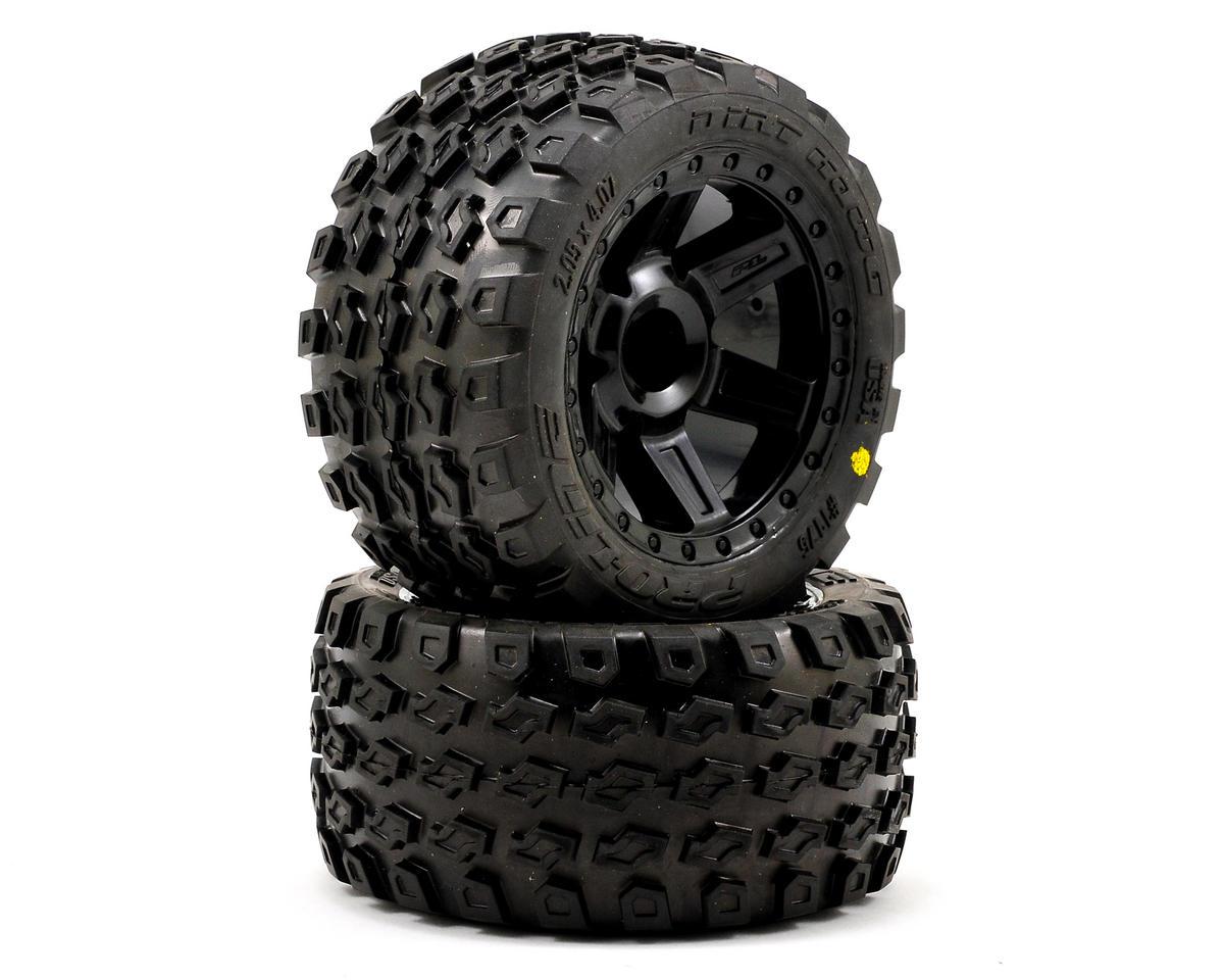 Pro-Line Dirt Hawg 2.8 30 Series w/Desperado Nitro Front Wheels (2) (Black)