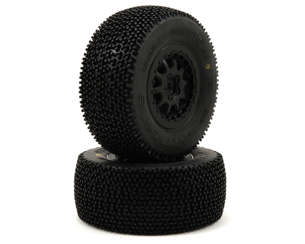 "Pro-Line Caliber 2.0 Pre-Mounted SC 2.2/3.0 M2 Tires w/""ProTrac"" Renegade Wheels"