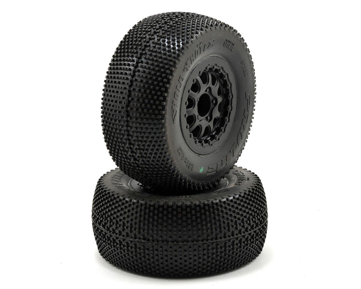 Pro-Line Hole Shot 2.0 Pre-Mounted SC 2.2/3.0 M3 Tires w/Renegade Wheel (Black)