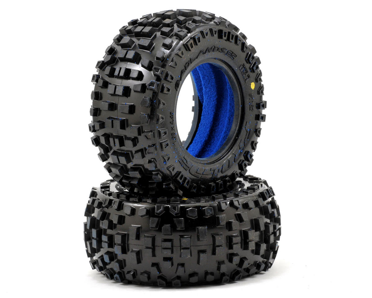 "Pro-Line Badlands 2.0 SC 2.2""/3.0"" Short Course Truck Tires (2) (M2)"