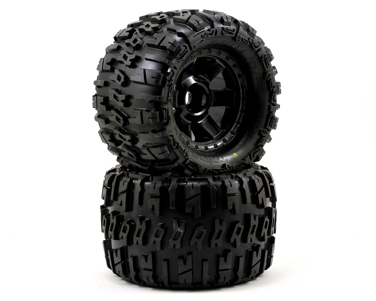 "Pro-Line Trencher X 3.8"" Tire 1/2"" Offset (2) (Black) (Tekno RC MT410)"
