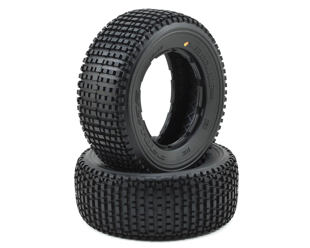 Blockade 1/5 Truck Tire (2) (No Foam) (X2) by Pro-Line