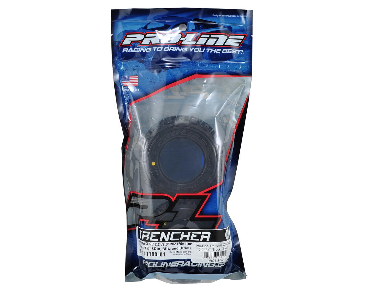 "Trencher X SC 2.2""/3.0"" Short Course Truck Tires (2) (M2) by Pro-Line"