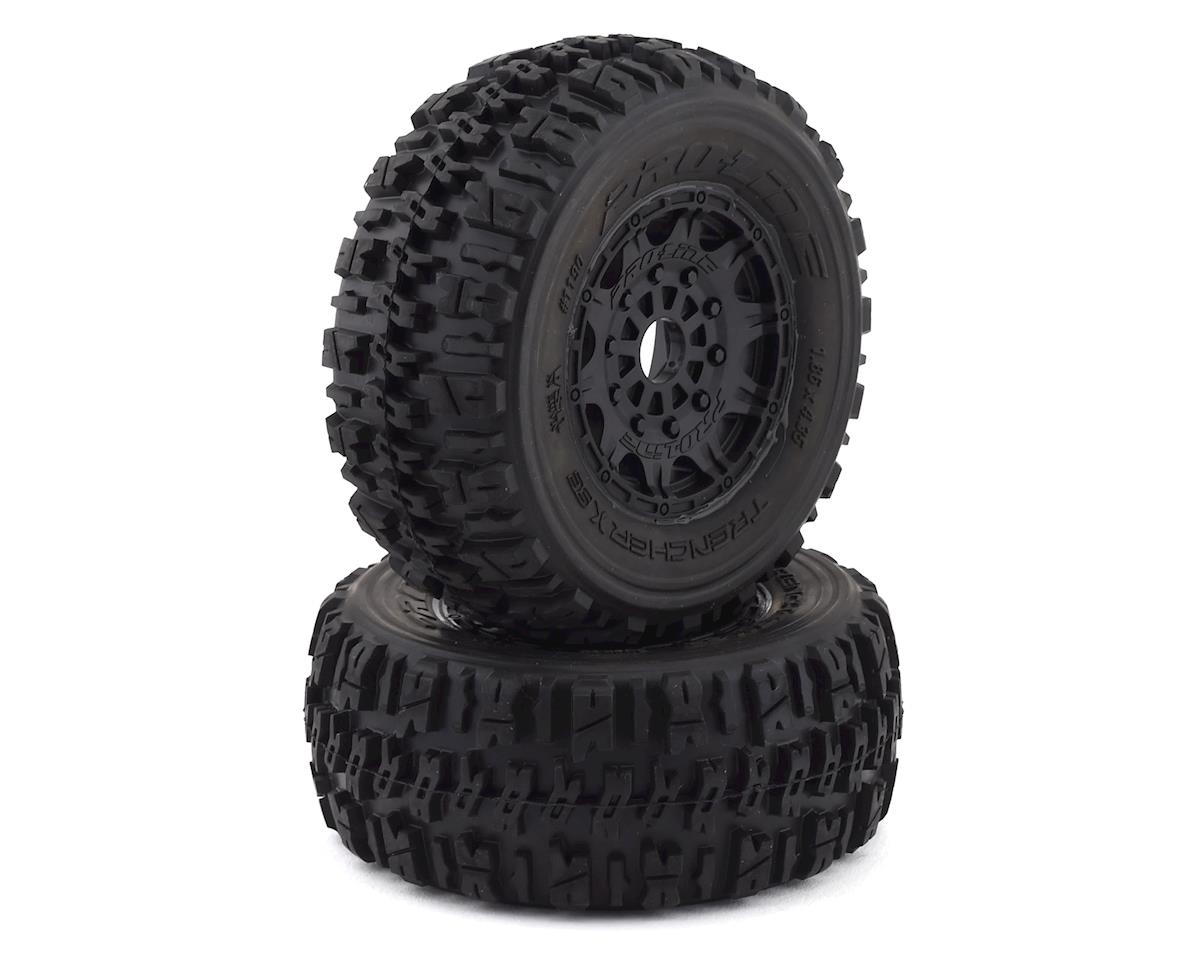 Pro-Line Trencher X SC Tires w/Raid Wheels (2) (Black)