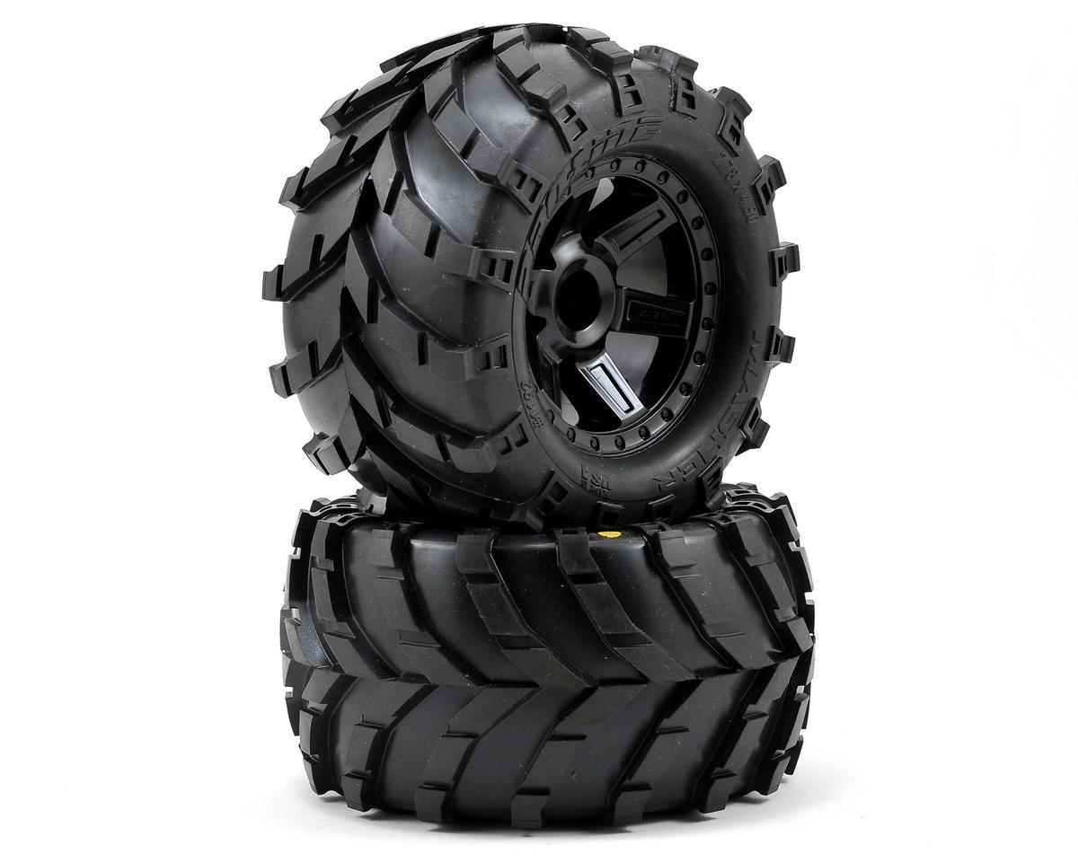 Pro-Line Masher 2.8 w/Desperado Nitro Rear Wheels (2) (Black) (M2)