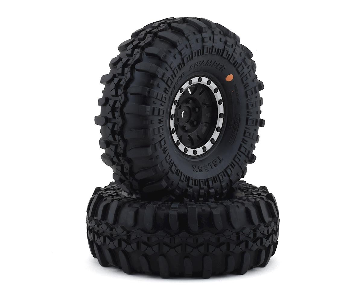 Pro-Line Interco Super Swamper 1.9 Tires w/Impulse Wheels (Black/Silver) (2)