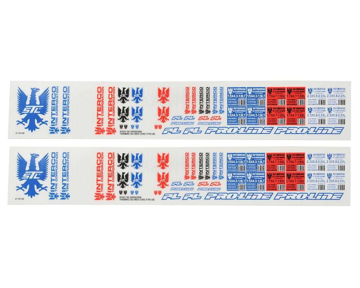 Pro-Line Interco TSL SX Super Swamper Scale Decals