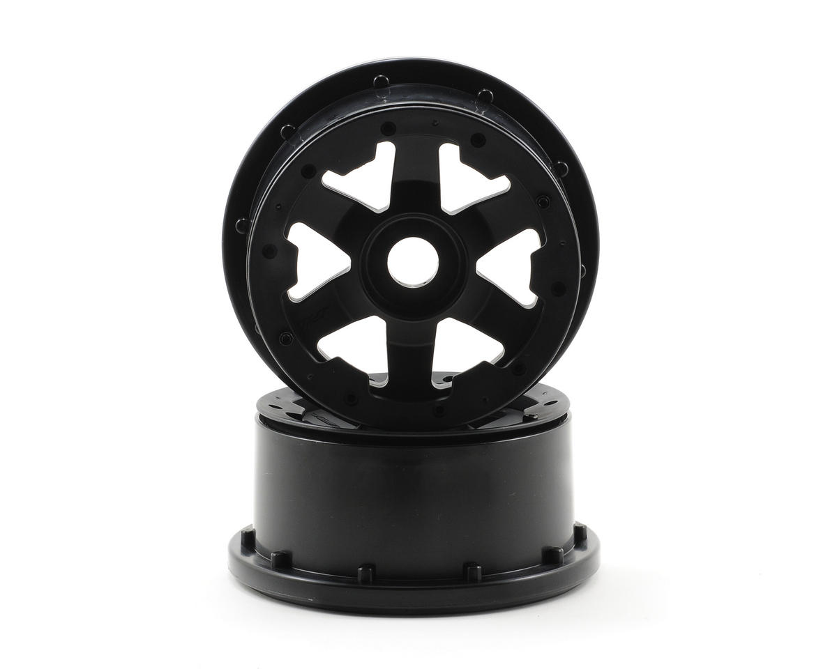 Desperado Front Bead-Loc Wheels (2) (Black/Black) by Pro-Line