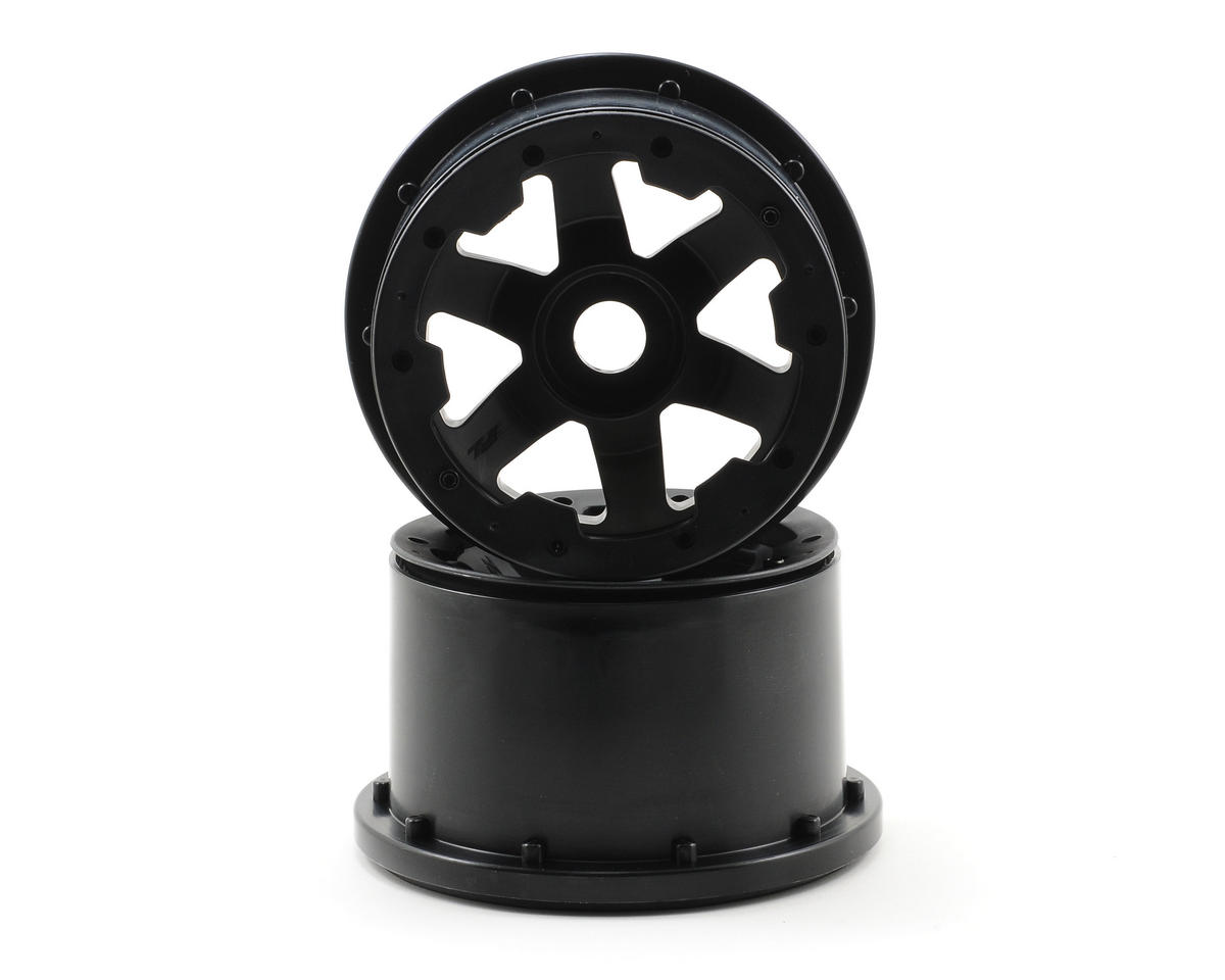 Pro-Line Desperado Rear Bead-Loc Wheels (2) (Black/Black)