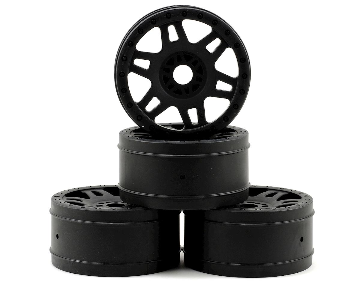 """Split Six"" V2 1/8 Buggy Rims (4) (Black) by Pro-Line"