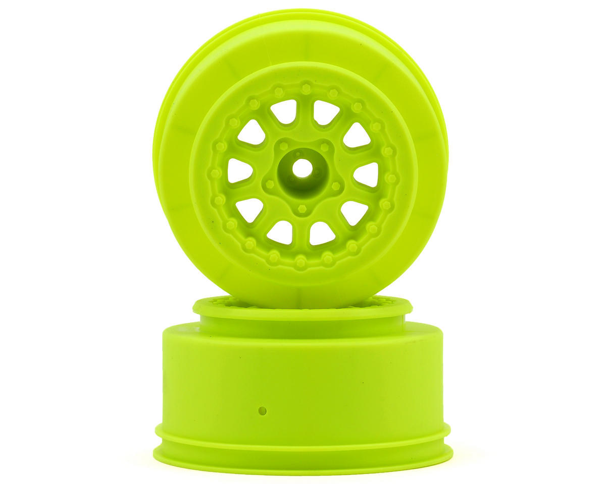 Pro-Line Renegade One-Piece Short Course Wheels (Yellow) (2) (SC6/Slash/Blitz)