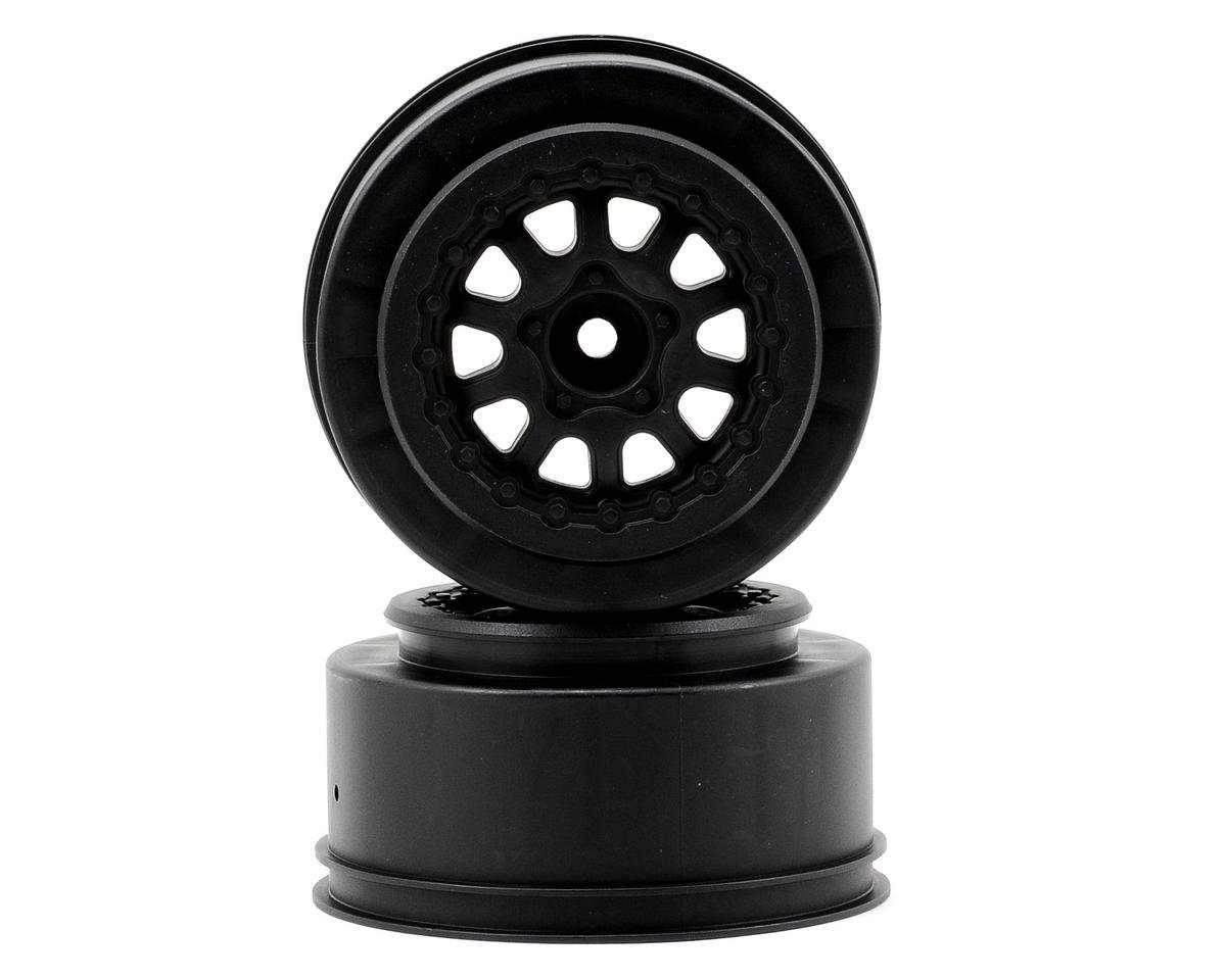 Renegade One-Piece Short Course Wheels (Black) (2) by Pro-Line