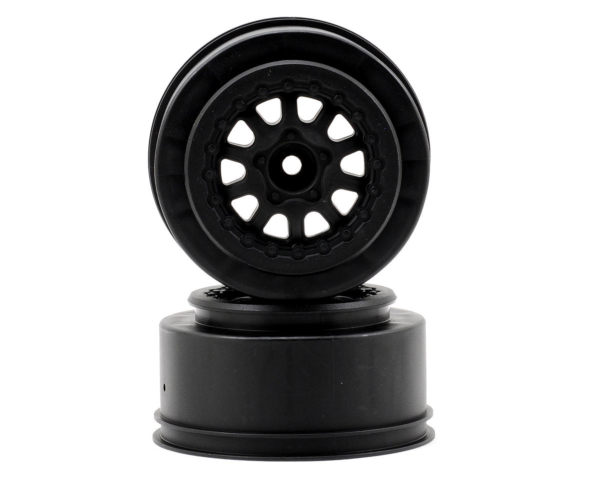 Pro-Line Renegade One-Piece Short Course Wheels (Black) (2) (OFNA Jammin SCRT 10 Nitro)