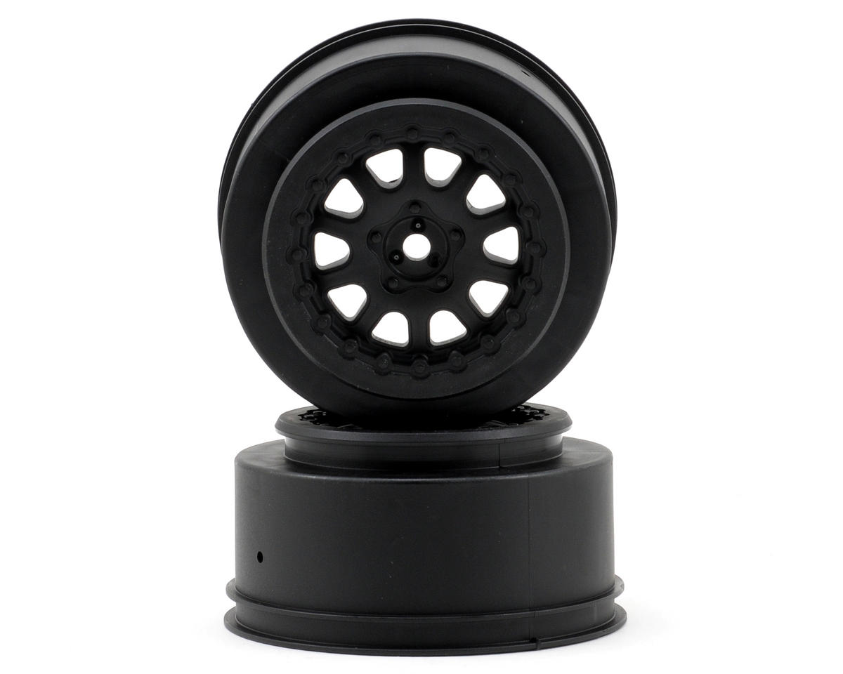 """ProTrac"" Renegade Short Course Wheels (Black) (2) (2WD Slash) by Pro-Line"
