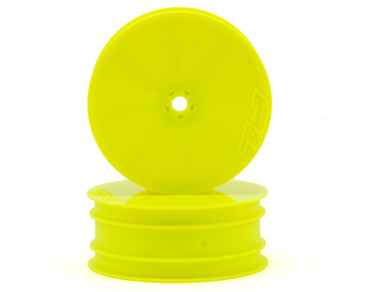 "Pro-Line 10mm Hex Velocity 2.2"" Front Wheels (2) (TLR 22) (Yellow)"