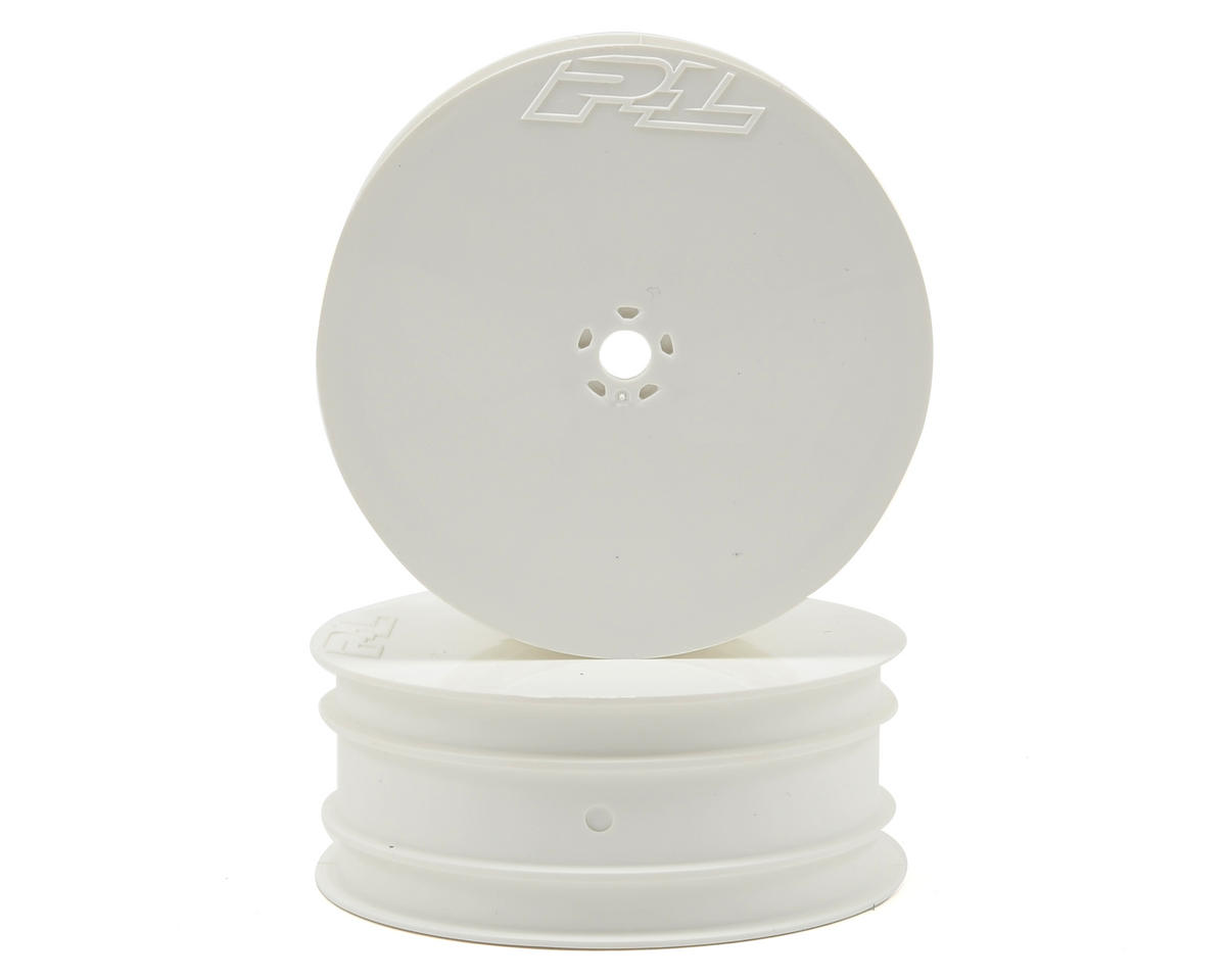 "Pro-Line 10mm Hex Velocity 2.2"" Front Wheels (2) (TLR 22) (White)"