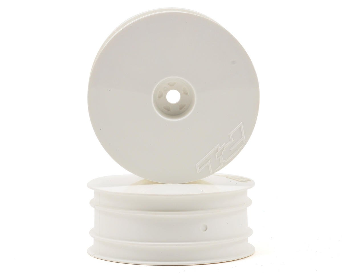 "Velocity 2.2"" Front Wheels (2) (B6/RB6) (White) by Pro-Line"