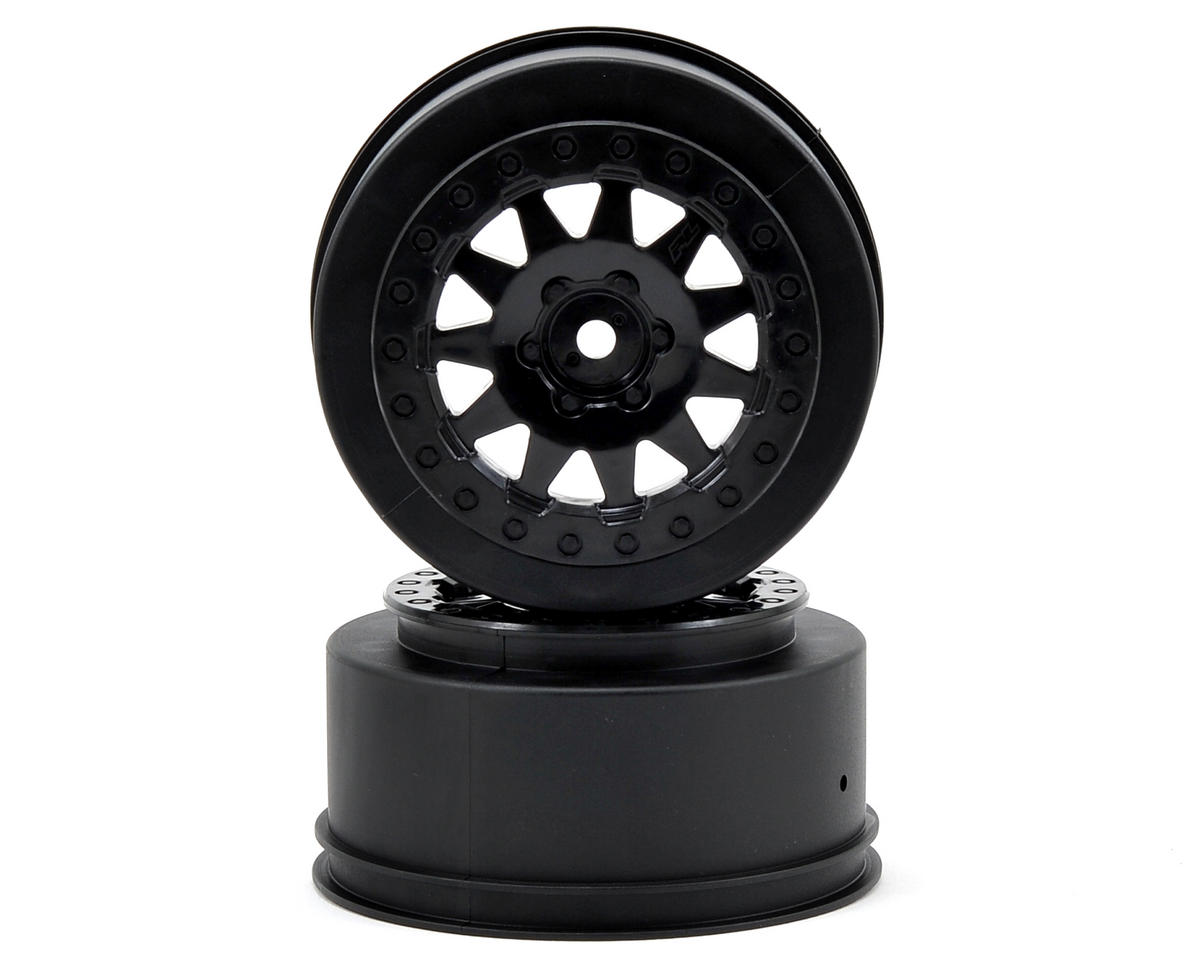 F-11 Short Course Wheels w/+3mm Offset (Black) (2) by Pro-Line