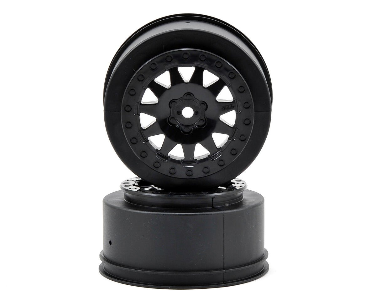 Pro-Line ProTrac F-11 Short Course Wheels (Black) (2)