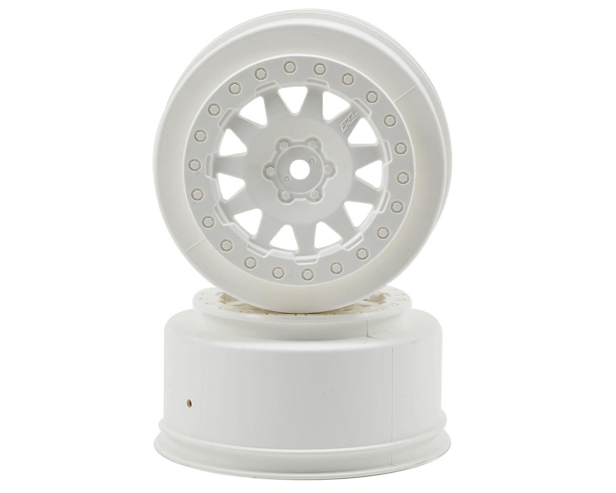 Pro-Line ProTrac F-11 Short Course Wheels (White) (2)