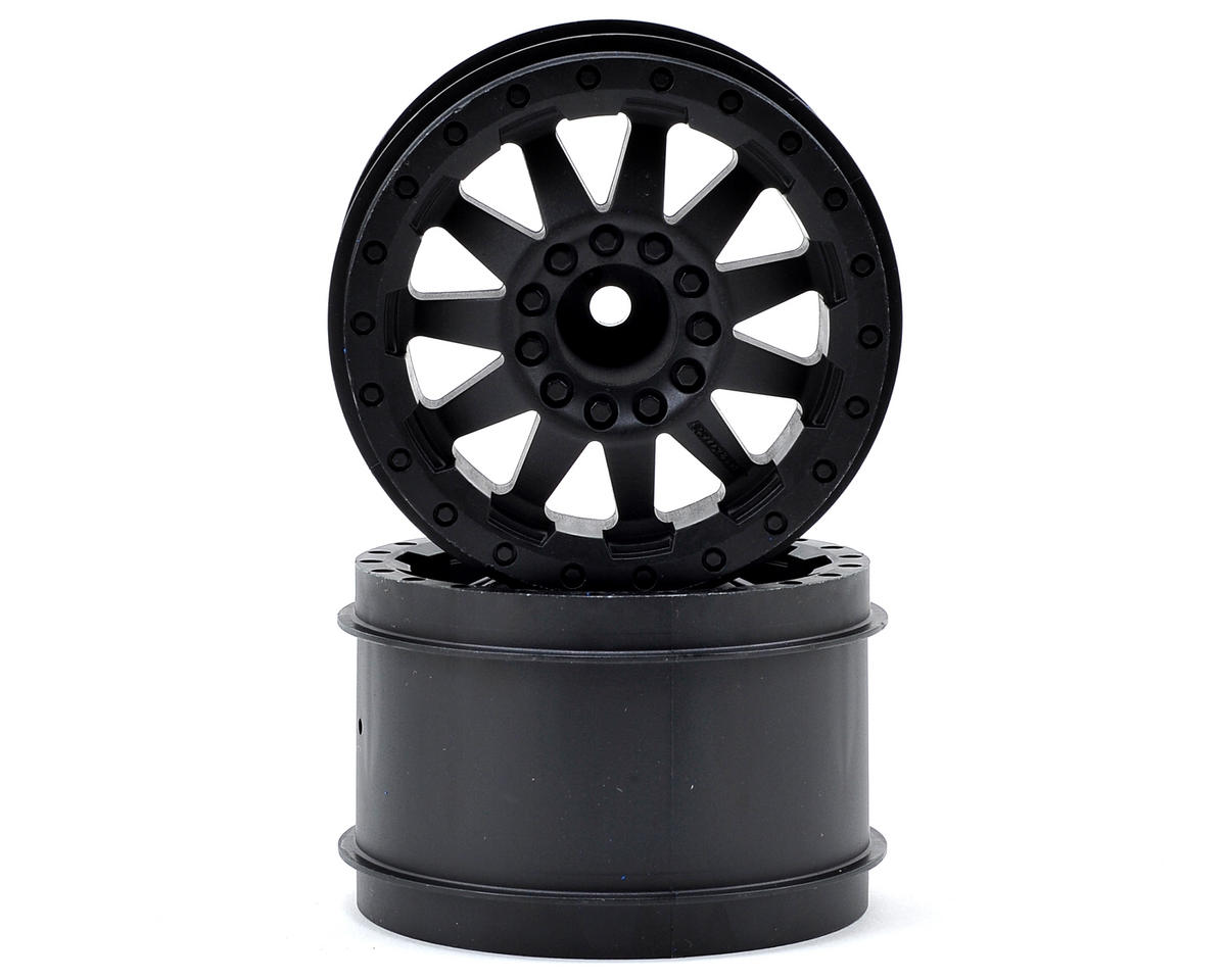 "Pro-Line 30 Series F-11 2.8"" Rear Nitro Wheels (2) (Black) (Traxxas Jato)"