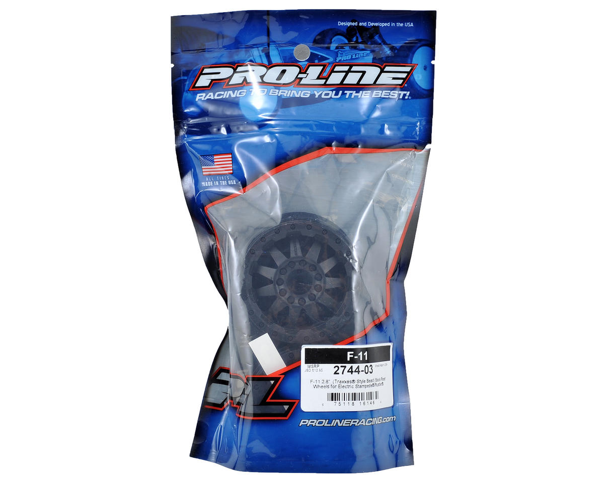 "Pro-Line 30 Series F-11 2.8"" Rear Electric Wheels (2) (Black)"