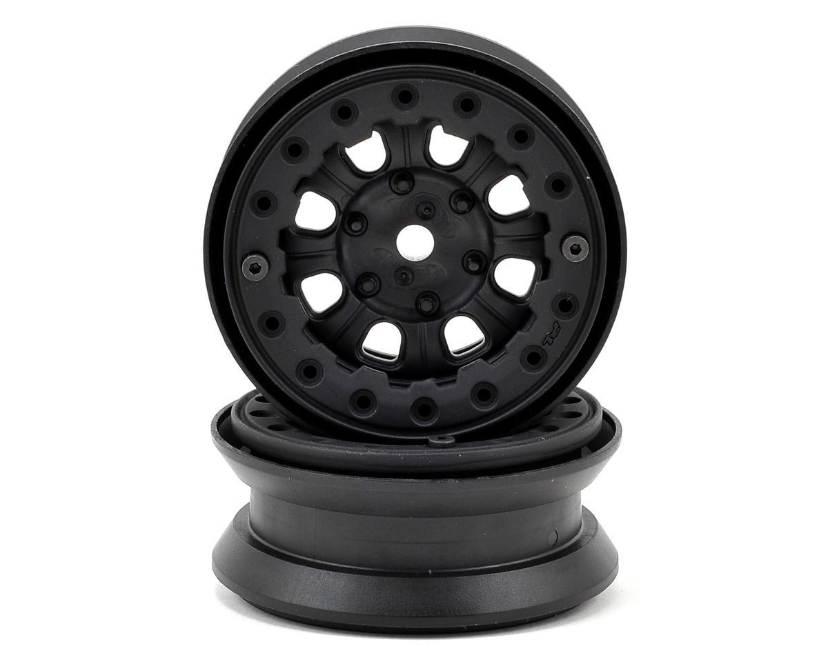 "Pro-Line Denali 1.9"" Bead Loc Rock Crawler Wheels (2) (Black/Black)"