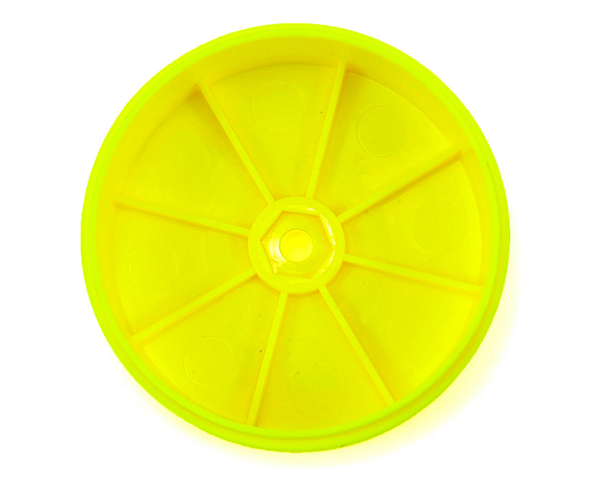 "Pro-Line 10mm Hex Velocity ""VTR"" 2.4"" Front Wheels (2) (TLR 22) (Yellow)"