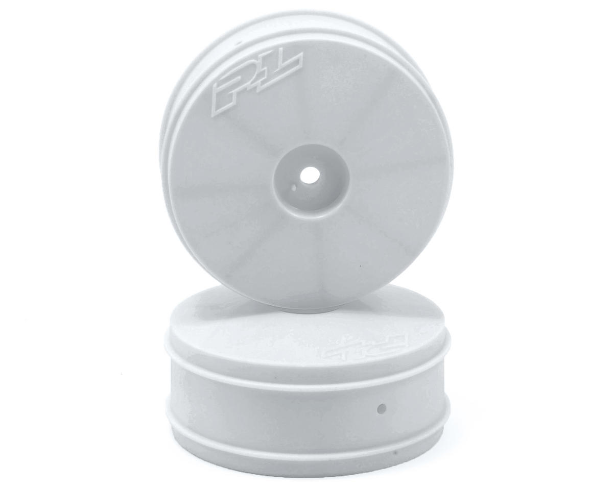 Velocity VTR 2.4 4WD Front Buggy Wheels (2) (White) by Pro-Line
