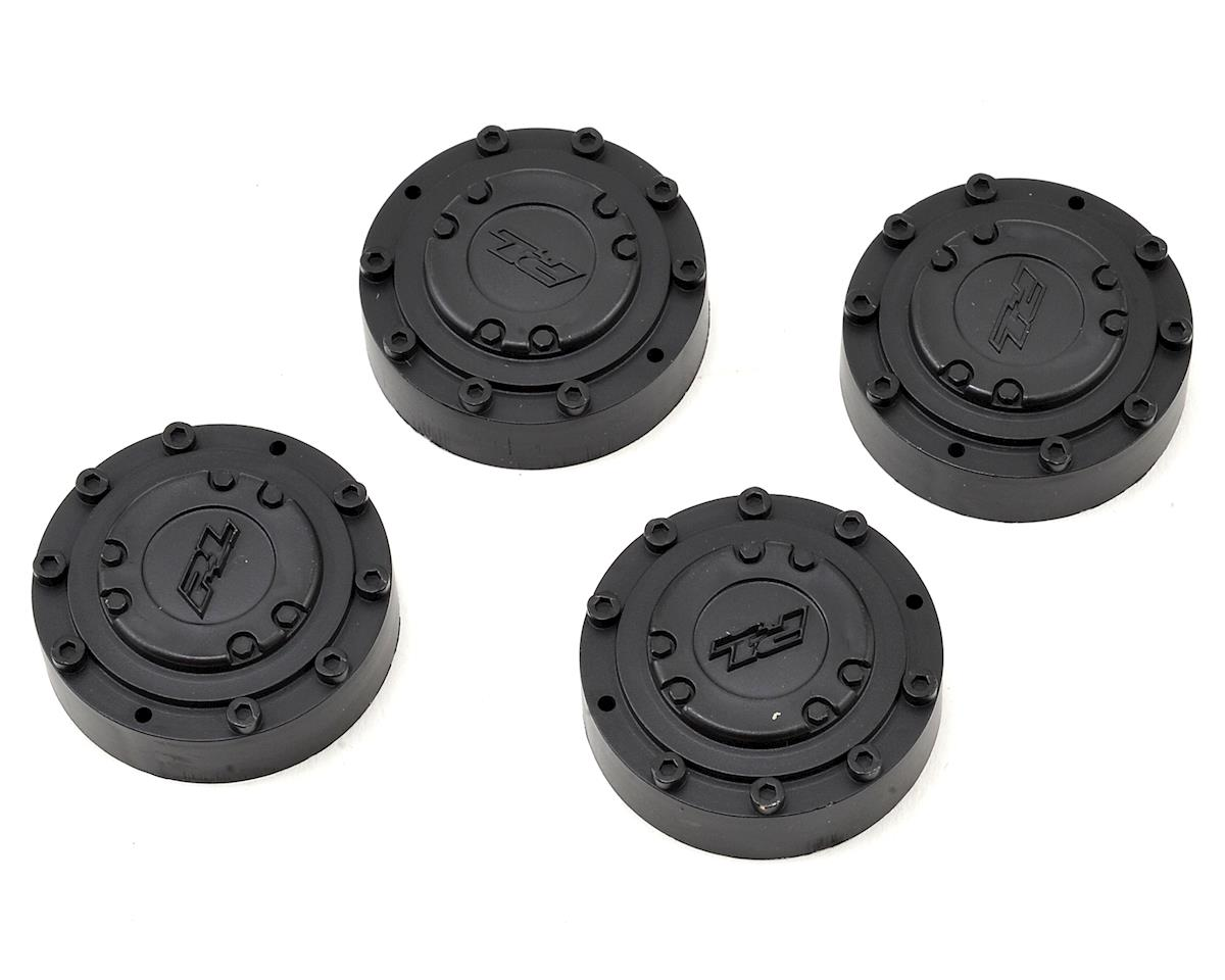 "Pro-Line Tamiya Clod Buster ""Brawler"" Wheel Nut Covers (4) (Black)"