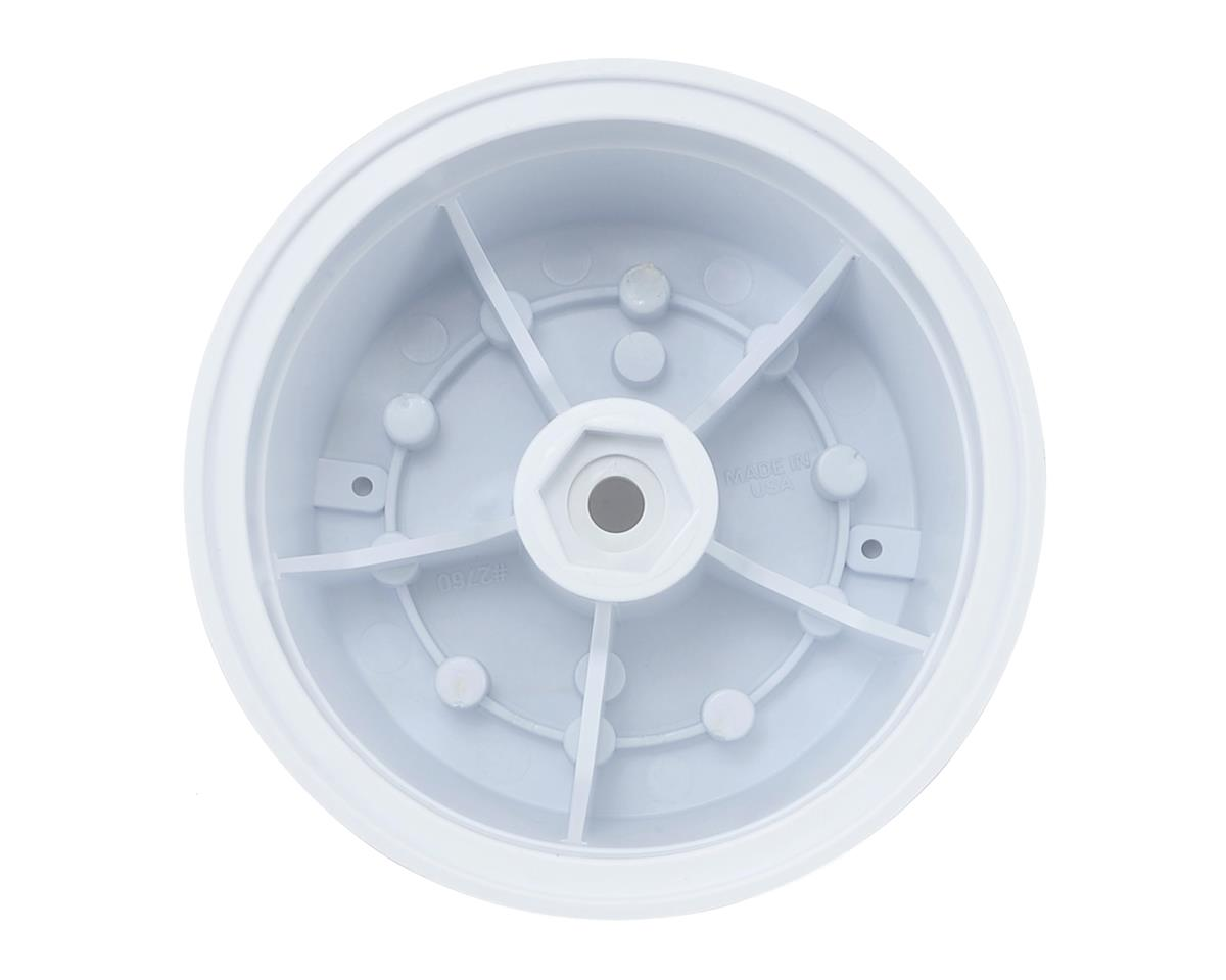 """Clod Buster Brawler 2.6"""" Wheel (White) (2) (+17.5mm Offset) by Pro-Line"""