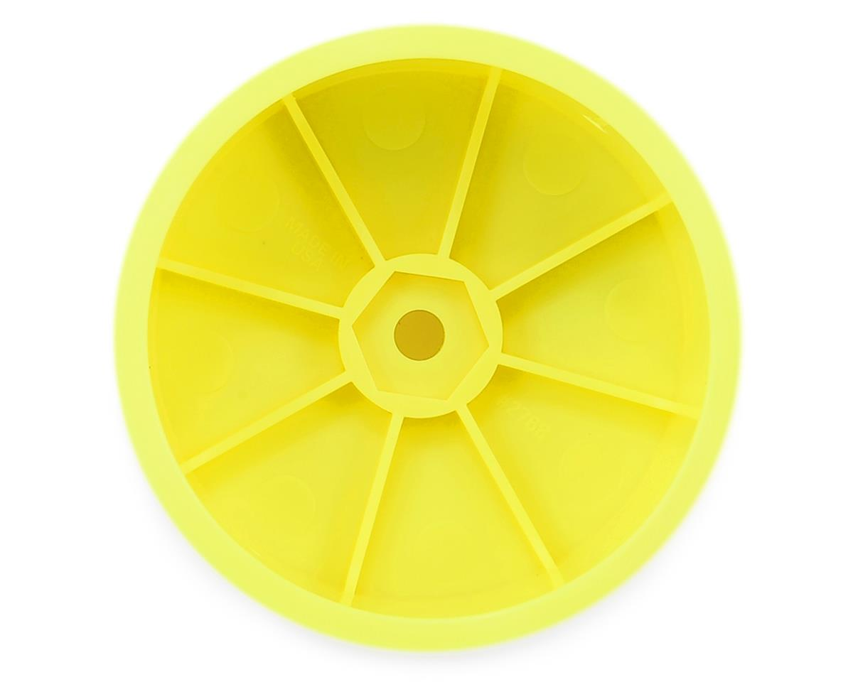 "Pro-Line Velocity VTR 2.2"" 4WD Front Buggy Wheels (2) (Yellow) (XB4)"