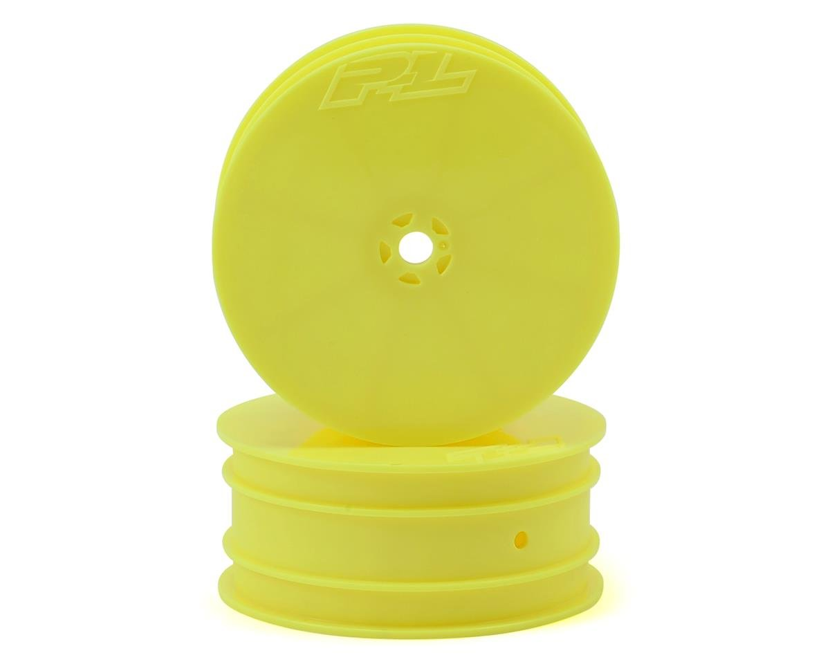 "Pro-Line Velocity VTR 2.2"" 4WD Front Buggy Wheels (2) (Yellow) (B64)"