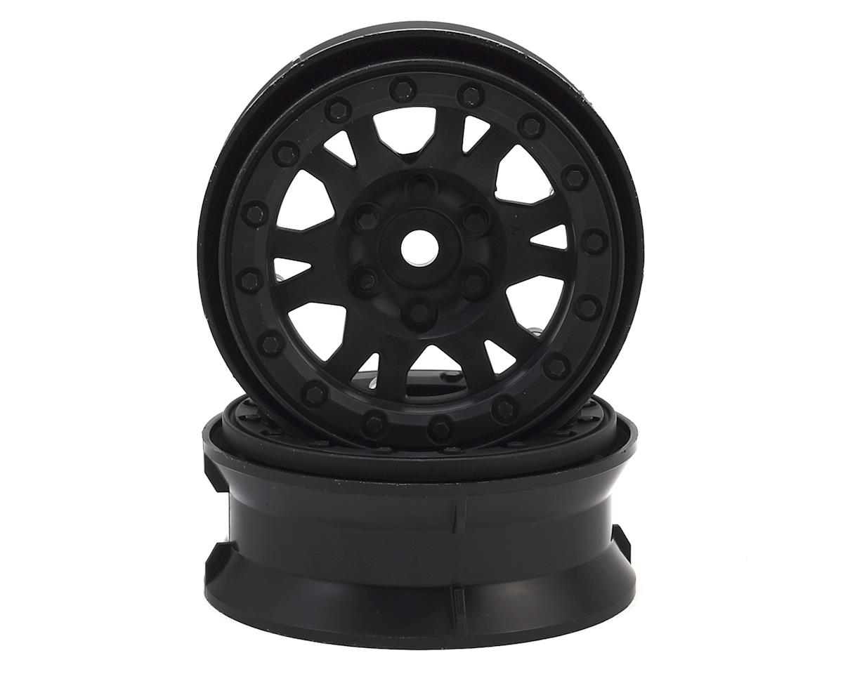 "Impulse 1.9"" Bead-Loc Wheels (Black) (2) by Pro-Line"