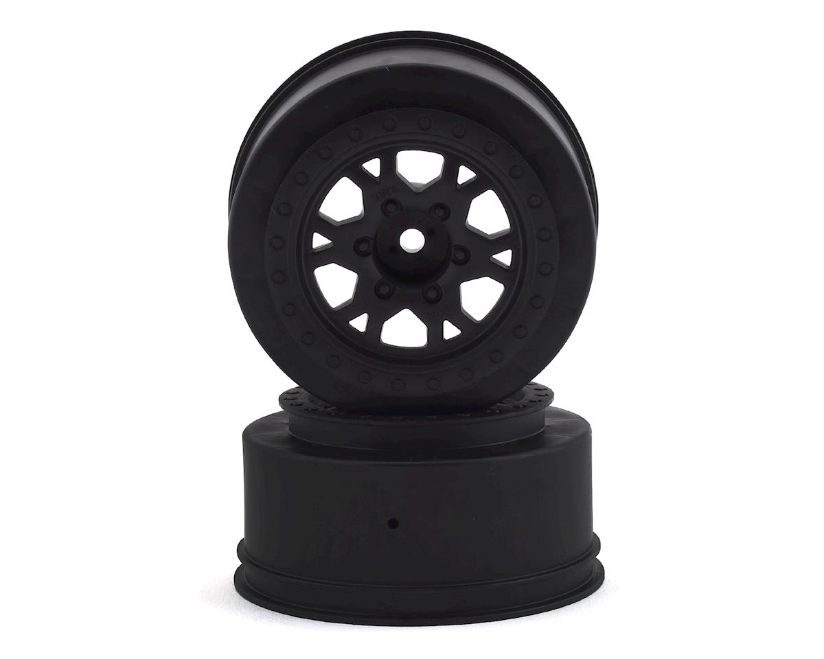 "Pro-Line 12mm Hex Impulse 2.2""/3.0"" Black Short Course Wheels (2) (Slash Rear)"