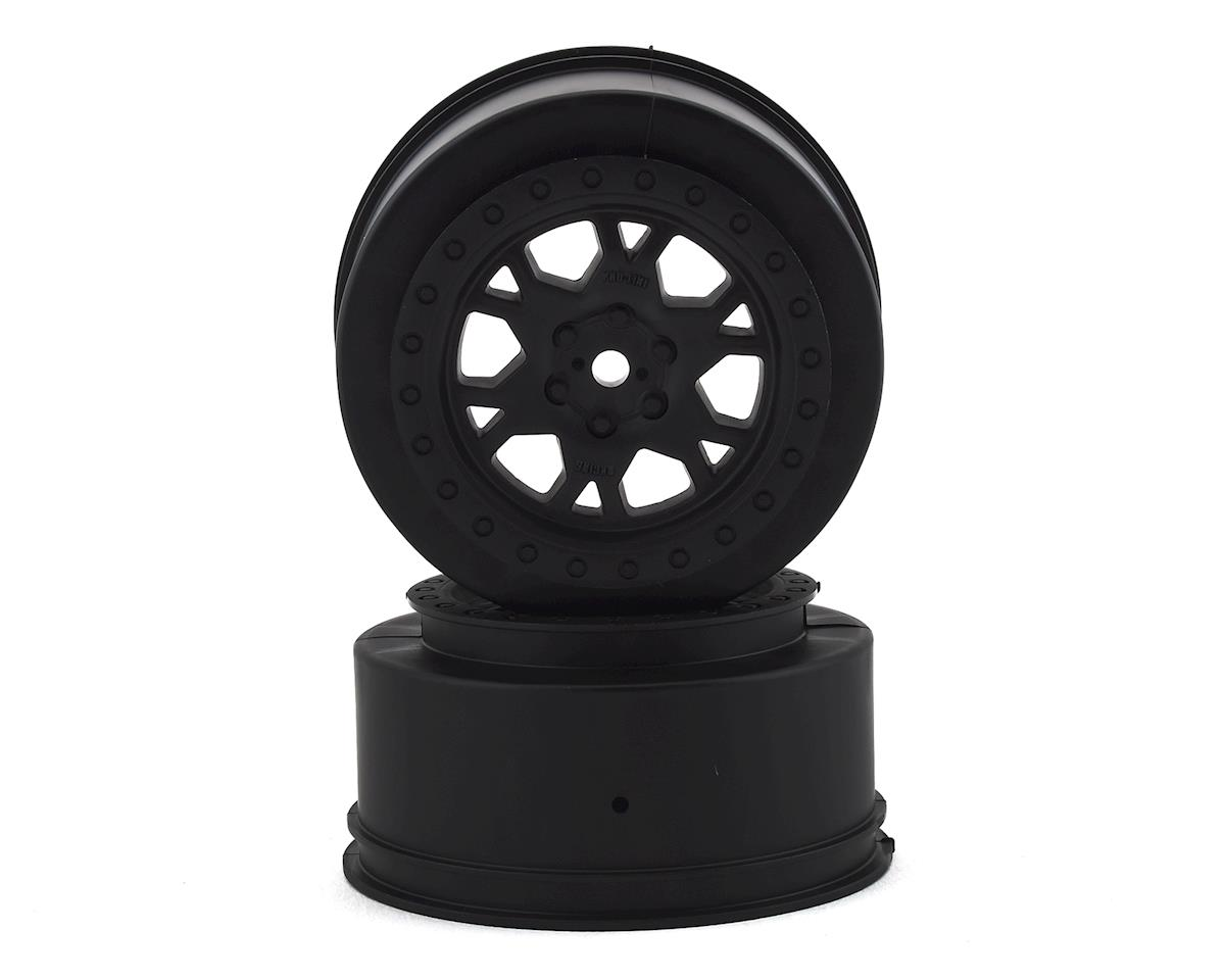 "Pro-Line Impulse 2.2""/3.0"" Short Course Wheels (Black) (2) (Losi TEN-SCTE 2.0)"