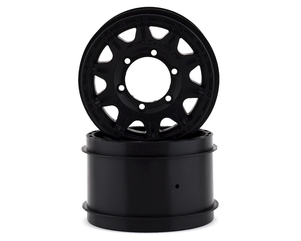 "Pro-Line Raid 2.8"" Wheel w/Removable Hex (Black) (2)"