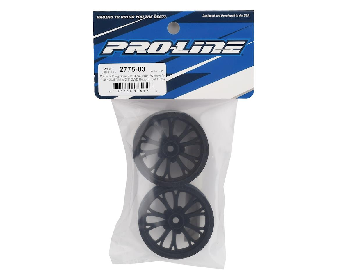 "Pro-Line 2WD Pomona Drag Spec 2.2"" Front Drag Racing Wheels (2)"
