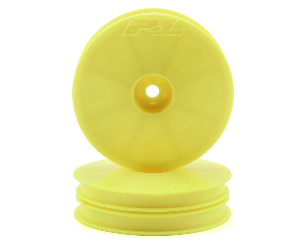 "Pro-Line Velocity ""Narrow"" 2.2"" Front Wheels (2) (B6/RB6) (Yellow)"