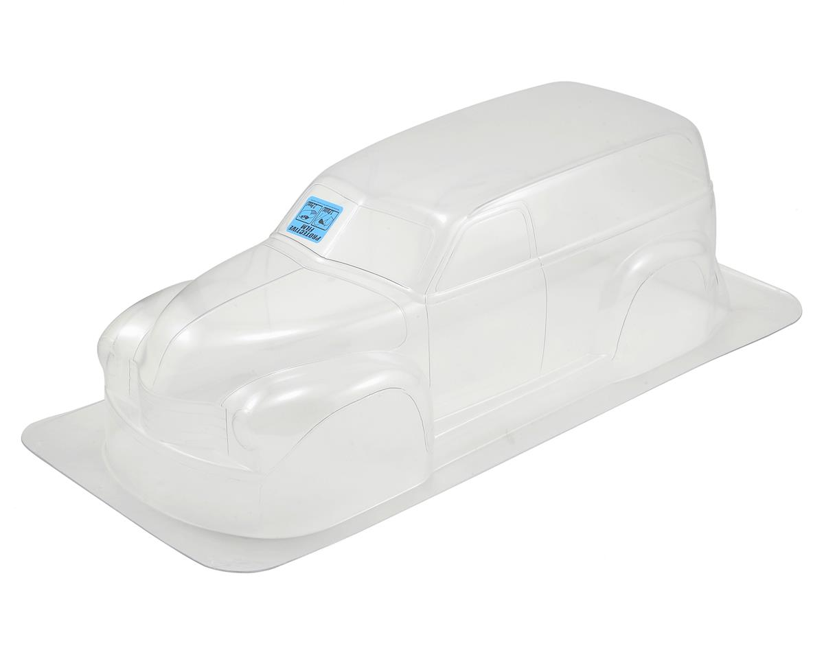 Pro-Line Early 50s Chevy Panel Truck Body (Clear) (Traxxas Revo)