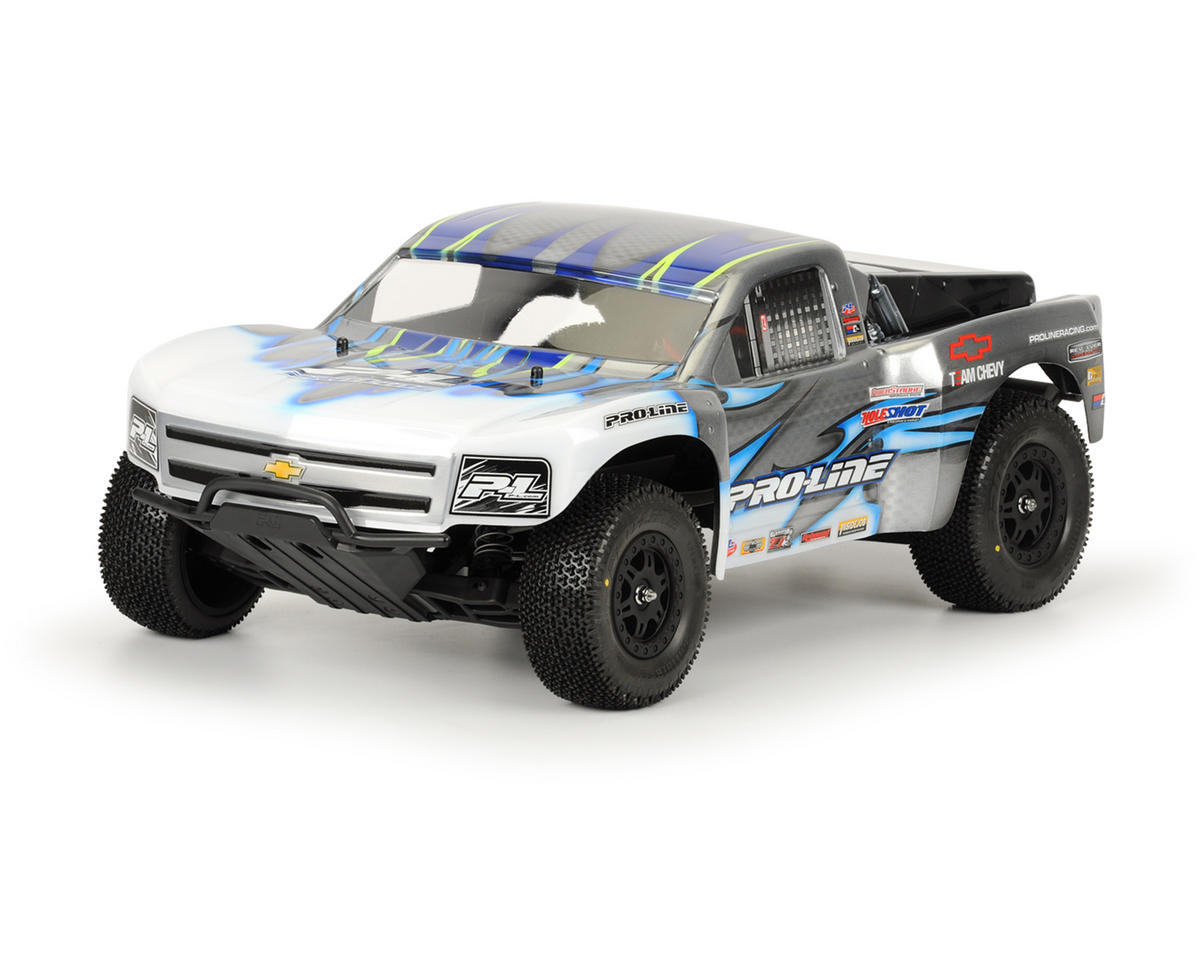 Chevy Silverado 1500 Body (Clear) (Slash, SC10) by Pro-Line