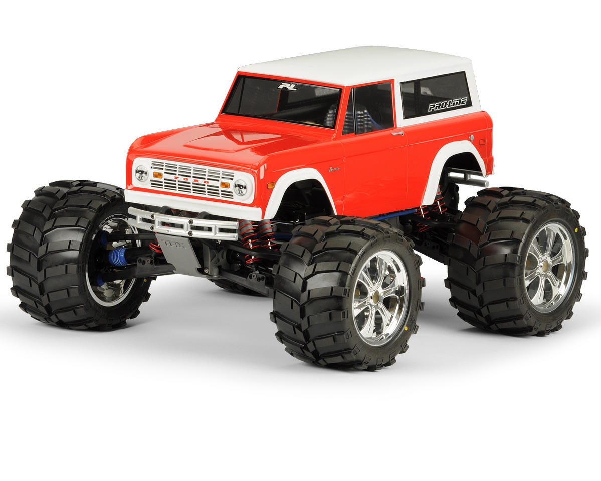 Pro-Line 1973 Ford Bronco Body (Clear)