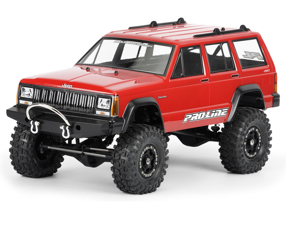 Pro-Line 1992 Jeep Cherokee 1/10 Crawler Body (Clear)