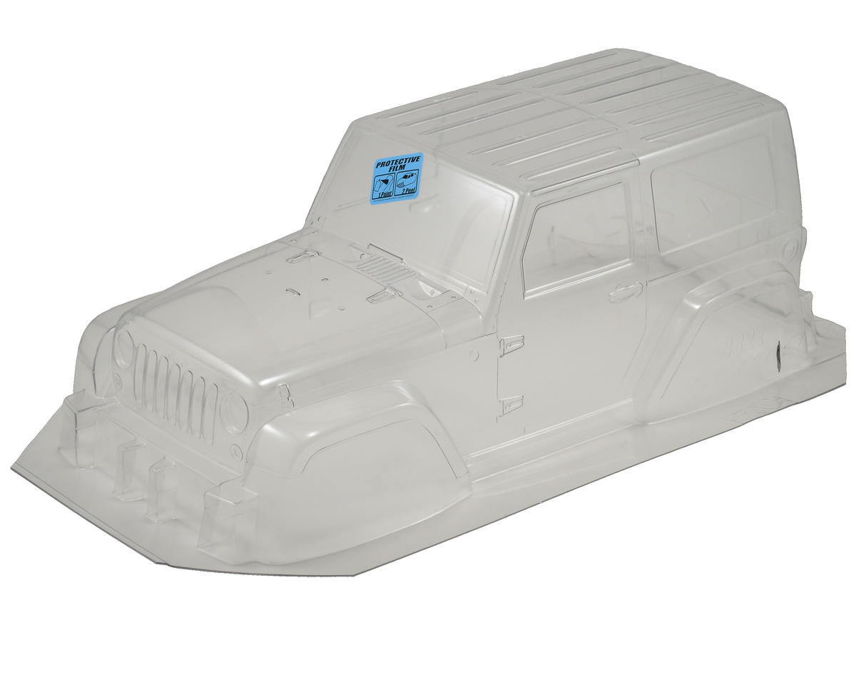 Pro-Line 2009 Jeep Wrangler 1/10 Crawler Body (Clear) (Tamiya CR01)